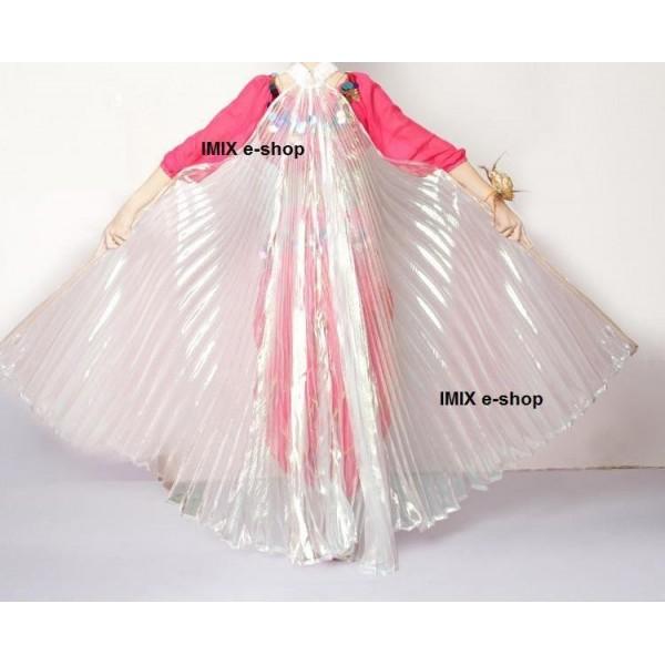 Dětská křídla ISIS MALÁ - průsvitná perleť (2 velikosti)