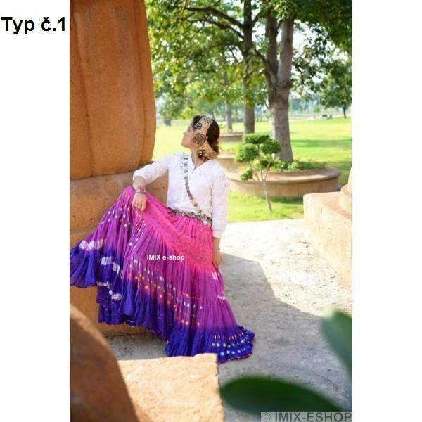 Tribal Fusion Sárí sukně 22 metrů