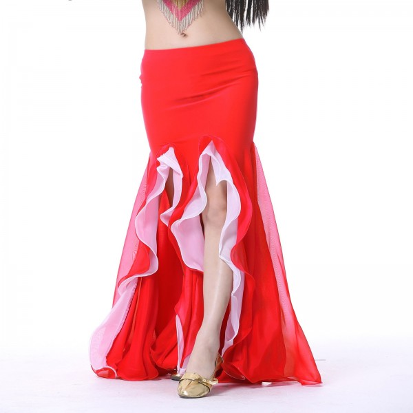 Taneční úzká sukně SABIRA s volány
