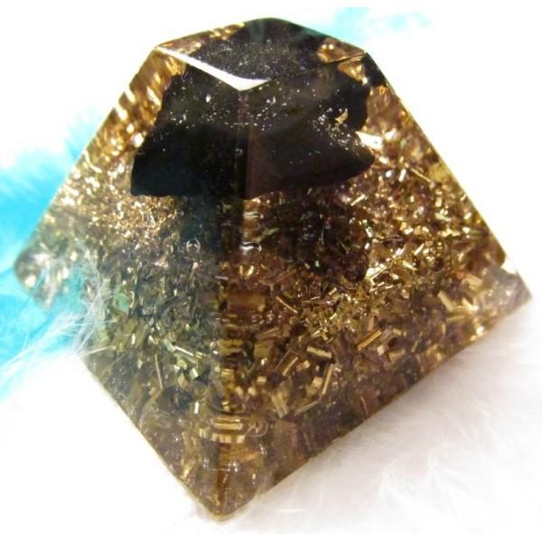 Orgonity se šungitem - Mayská pyramida
