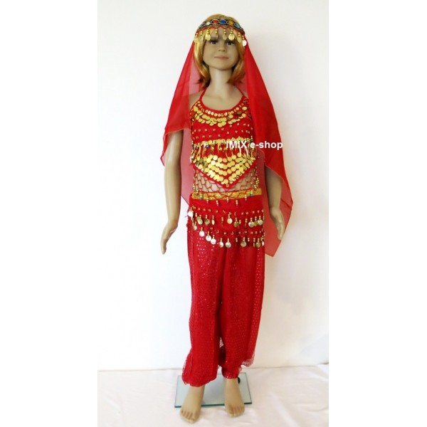 Dětský kalhotový kostým - 4 dílný SET