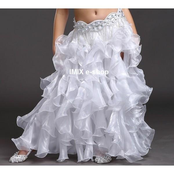 Dívčí taneční sukně volánová - S,M,L