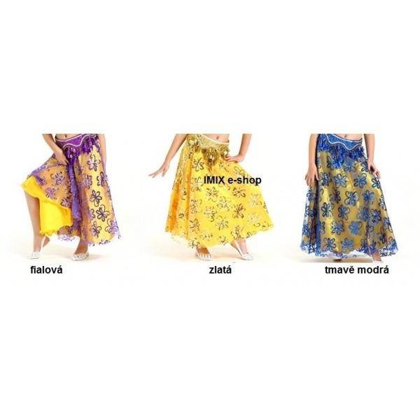Dívčí orientální sukně Manar