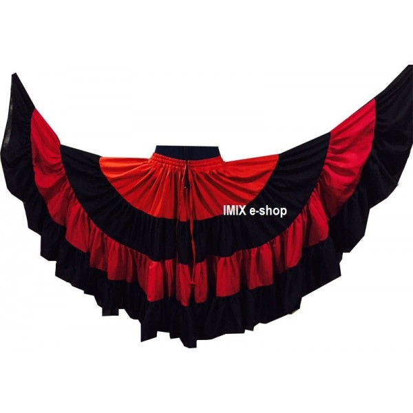 Tribal Flamenco Malai sukně - 21 metrů
