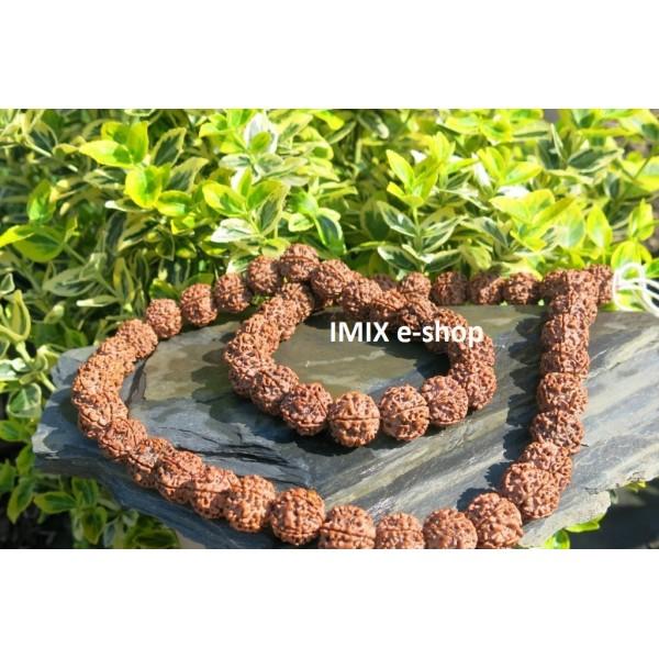 Rudraksha náhrdelník velký
