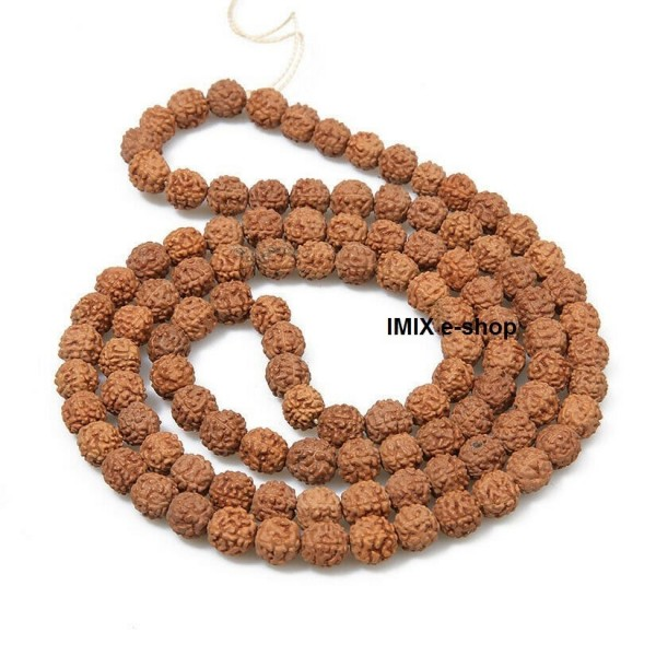 Rudraksha náhrdelník malý 8 mm