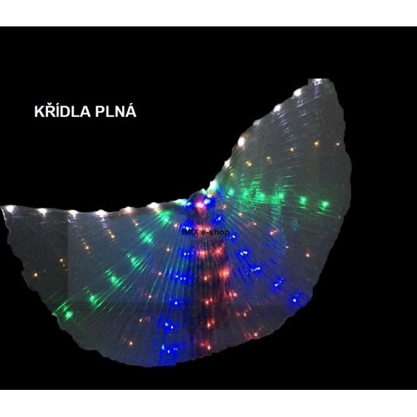 Křídla ISIS svítící s LED diody