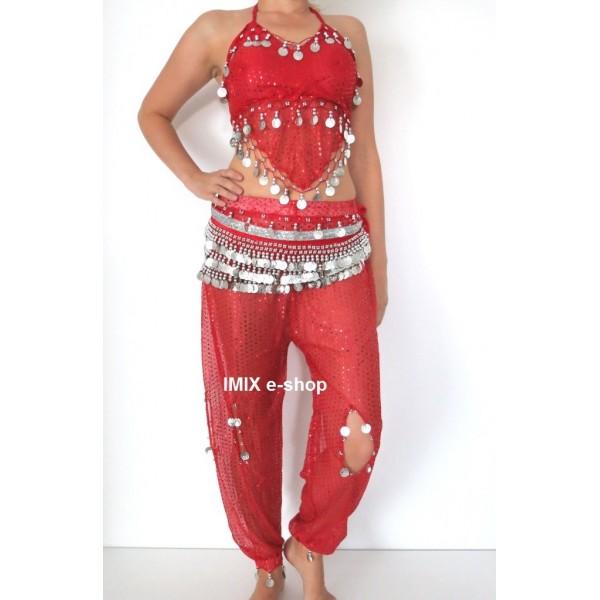 Zdobený kalhotový kostým SULTÁNKY TŘPYT