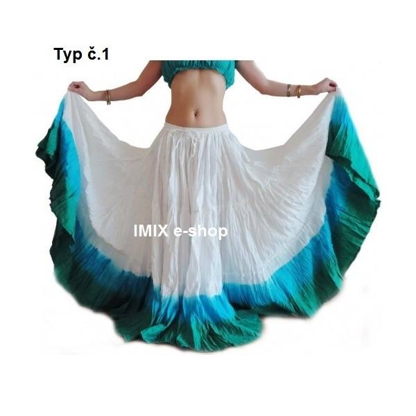 Široká sukně TRIBAL Batika - 29 metrů