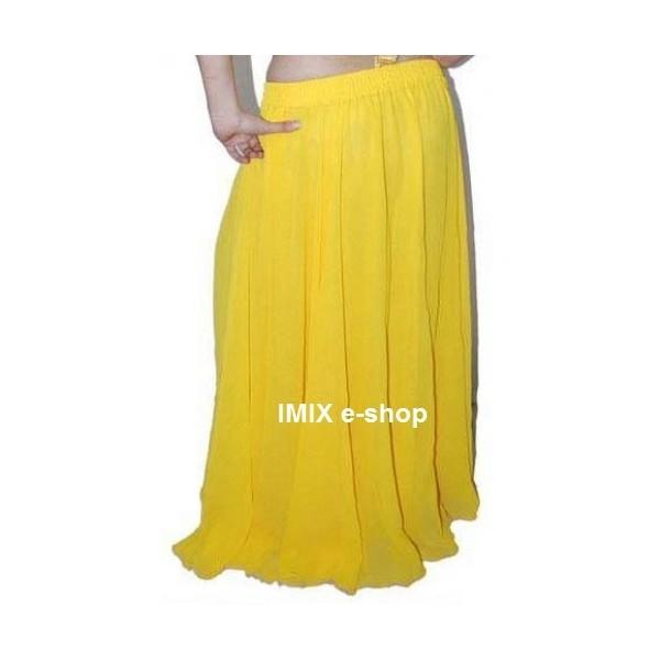 Kolová žoržetová sukně Anisah
