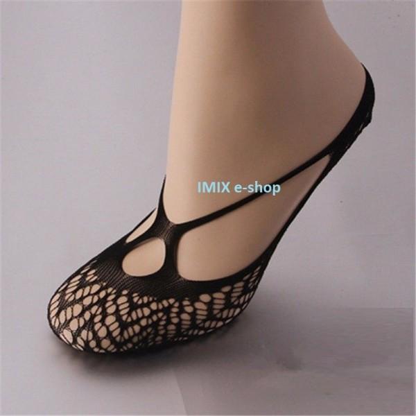 Krátké efektní ponožky Diana