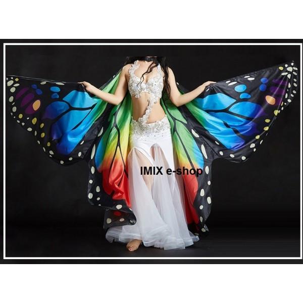 Motýlí křídla ISIS z imitace hedvábí