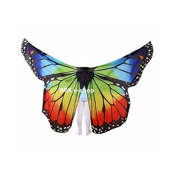 Dívčí Profi motýlí křídla z imitace hedvábí