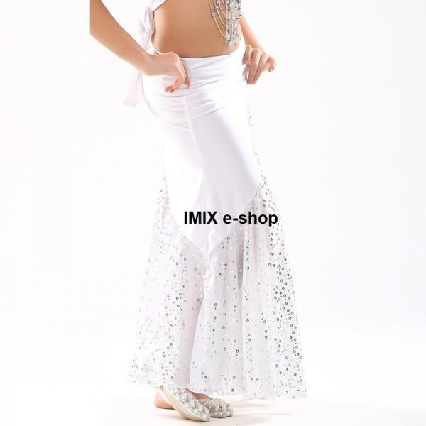 Dívčí taneční sukně s rozparkem SIHAM