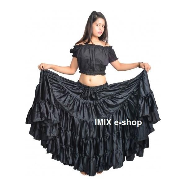 Gypsy, Flamenco, Tribal pětidílná sukně