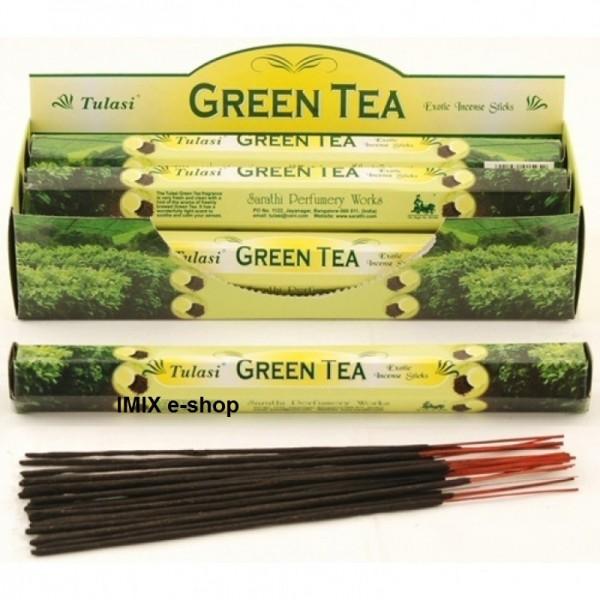 Vonné tyčinky s vůní GREEN TEA - 20 ks