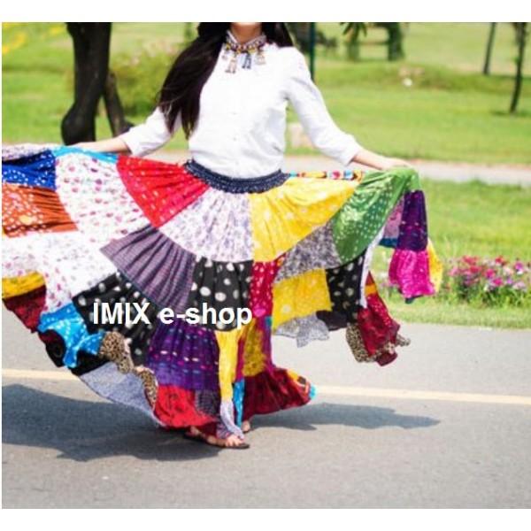 Profesionální Patchwork široká sukně - 14, 23 a 32 metrů