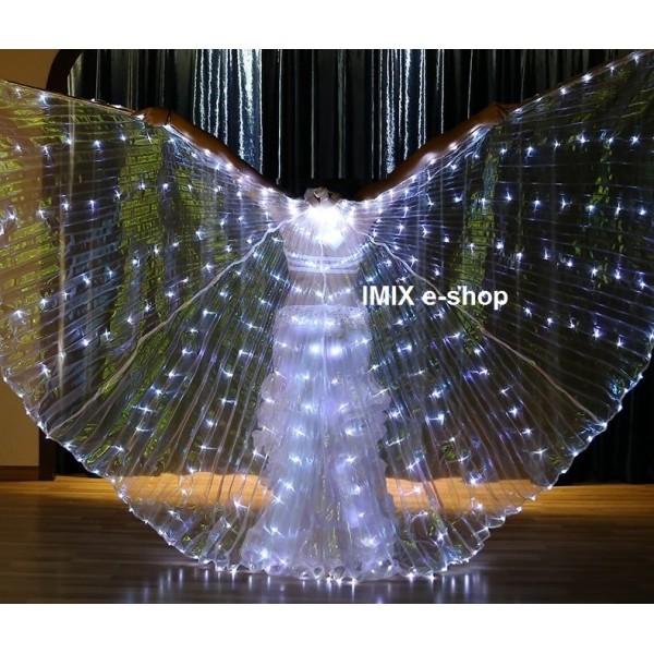 LED křídla - BLIKAJÍCÍ hvězdná obloha, 332 diod