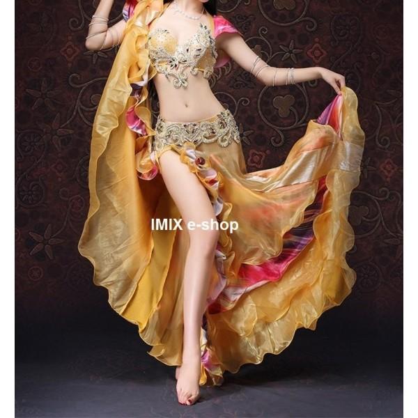 Luxusní třídílný kostým Leila s push-up podprsenkou