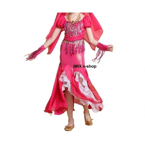 Dívčí orient kostým SABIRA - více variant