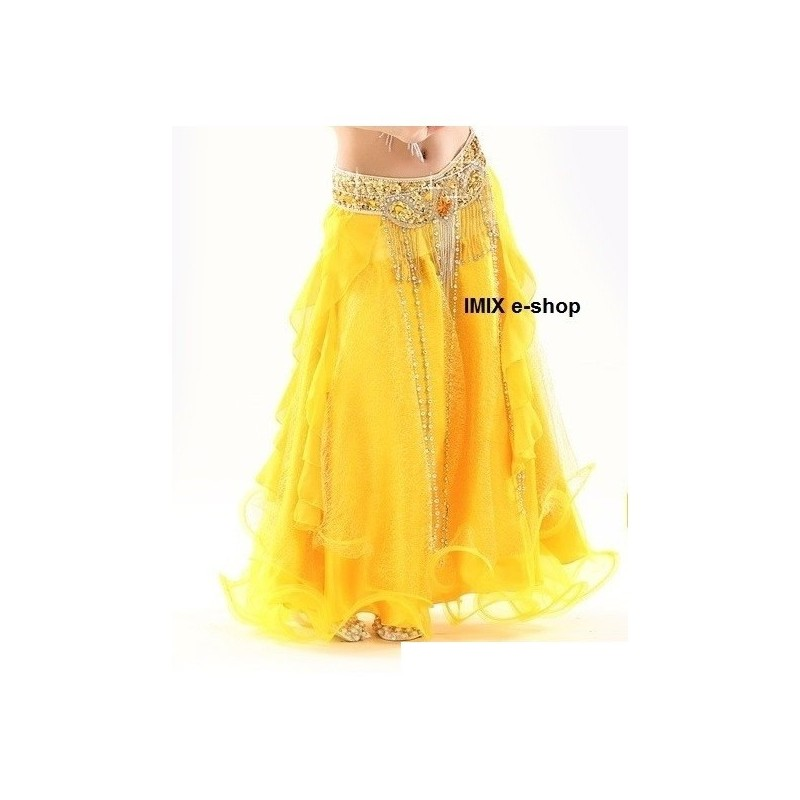 Dívčí sukně ZAHI žluté - AKCE