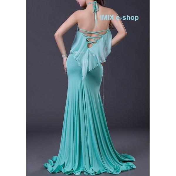Úzké sexy taneční šaty se šněrováním Emilia