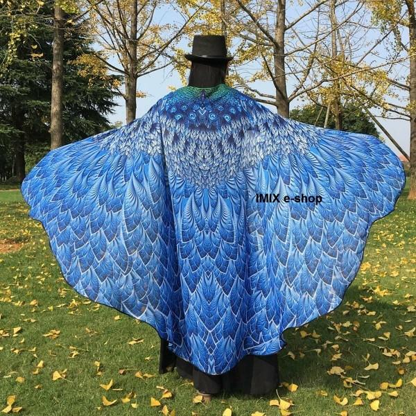 Multifunkční závoj, křídla, sukně, plášť PAVÍ