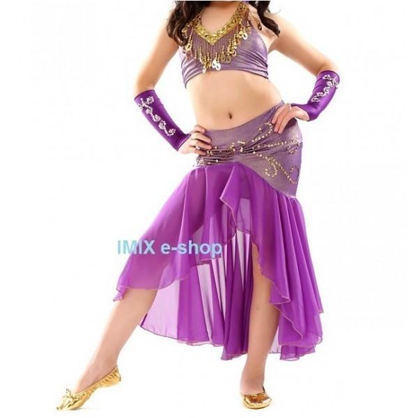 Taneční dívčí orient kostým AMEERA (S,M,L)