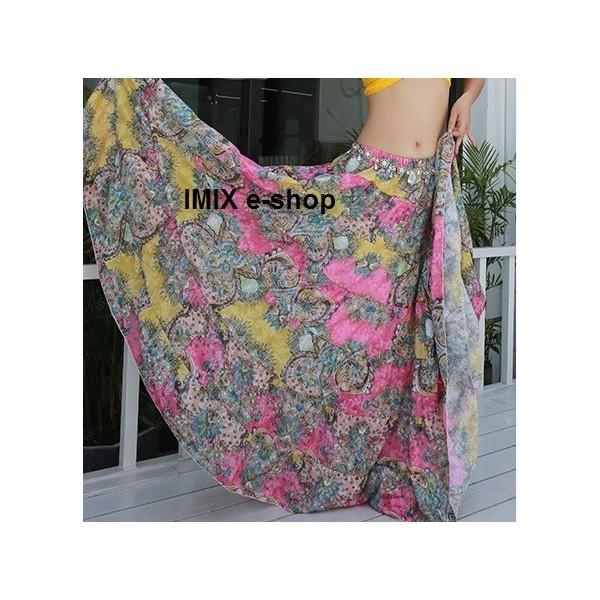 Taneční set top + květinová sukně SALIMA