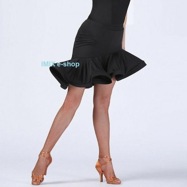 Krátká taneční LATINO sukně kroucená ELIS