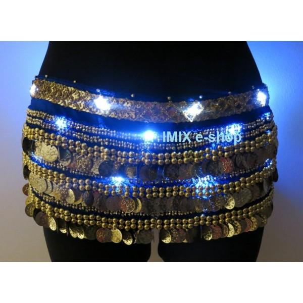 LED osvětlení penízkového šátku