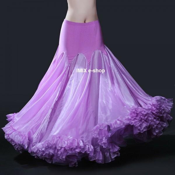 Taneční dlouhá a široká sukně STELLA