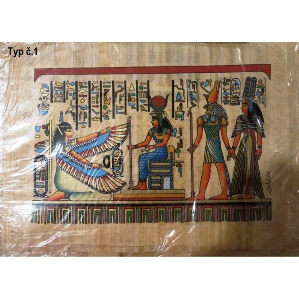 Egyptský obrázek Papyrus - více druhů