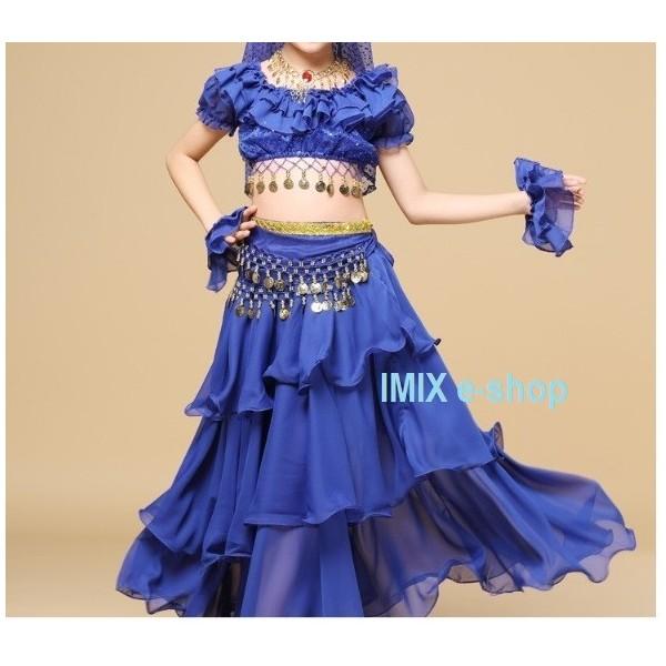 Dívčí taneční kostým - set ZAHIA
