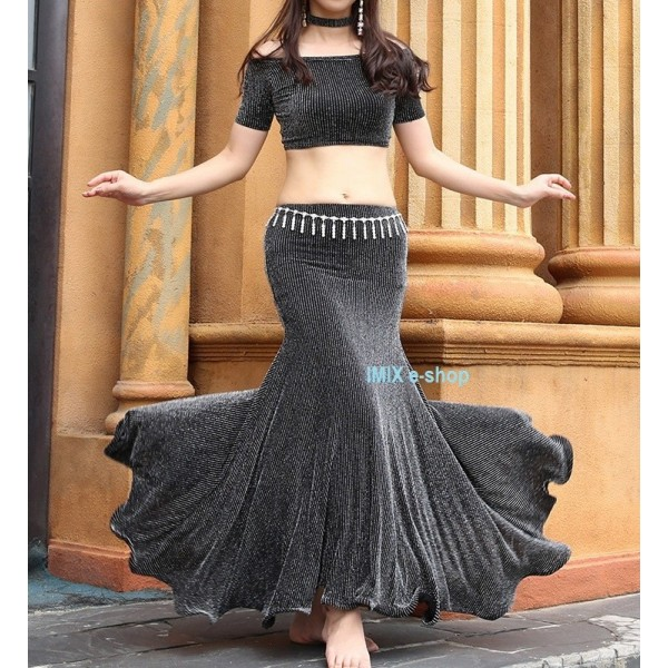 Taneční třpytivé šaty třídílné Amelia