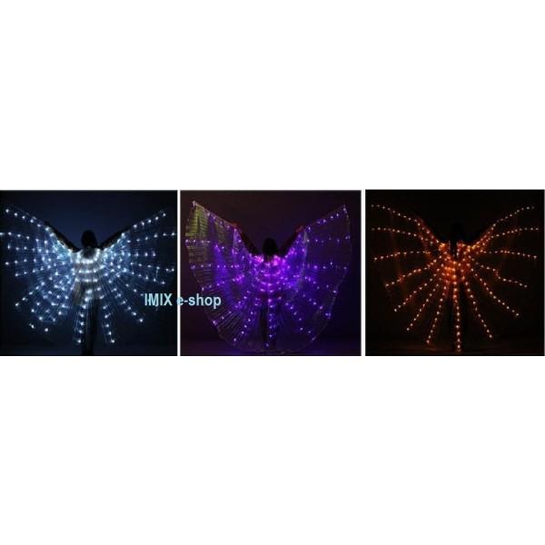 Základní LED křídla ISIS - mnoho barev