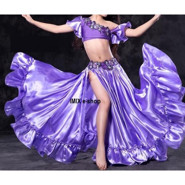 Dívčí luxusní taneční orient kostým NYELA