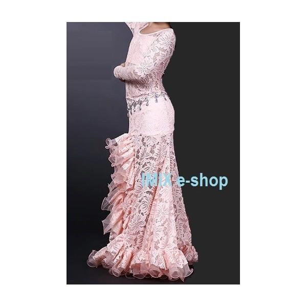 Krajkové taneční šaty Valeria - dětské i dámské