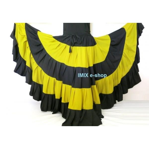 MALAI širokánská sukně Flamenco