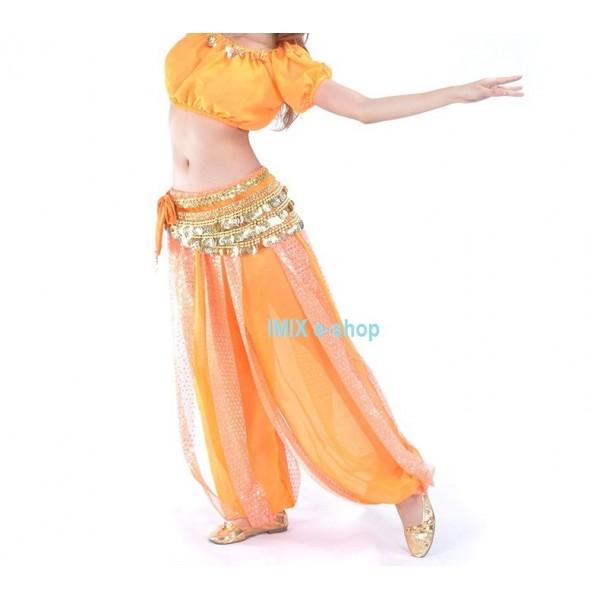 Kalhotový kostým s penízkovým pásem THARA