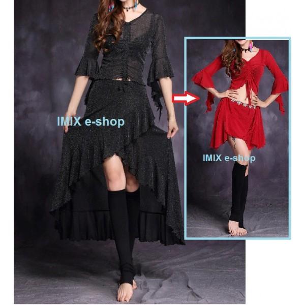 Taneční multifunkční třpytivé šaty Maria