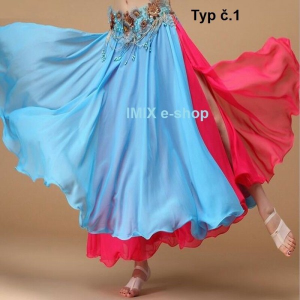 Dvojbarevné sukně FARIS - AKCE