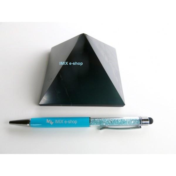 Šungitová pyramida 8x8 cm Karélie