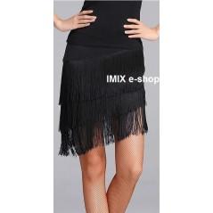 Taneční sukně s třásněmi Melania