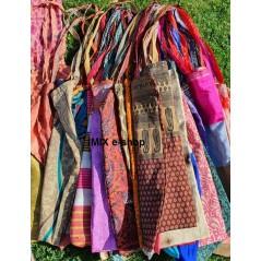 Hedvábná orientální taška přes rameno - VELKÁ