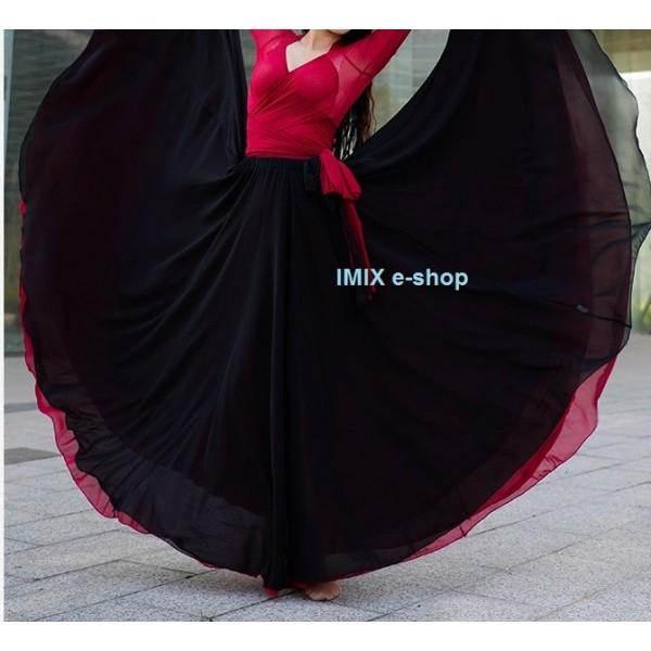 Široké závojové sukně Erica