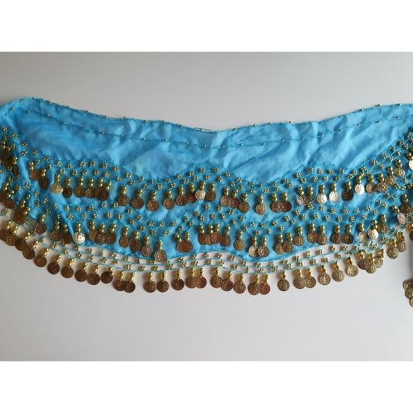 Penízkový šátek modrý - II.jakost