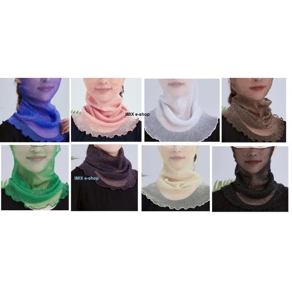 Třpytivá multifunkční rouška - šátek