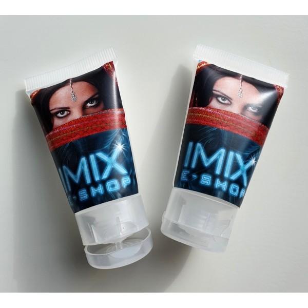 Prázdná mini tuba na krémy, šampóny, gely, mýdla