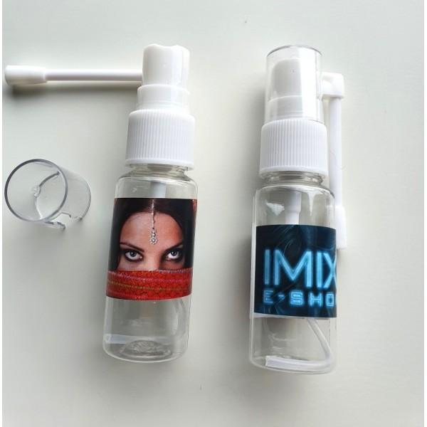 Prázdná lahvička mini s rozprašovačem lékařská